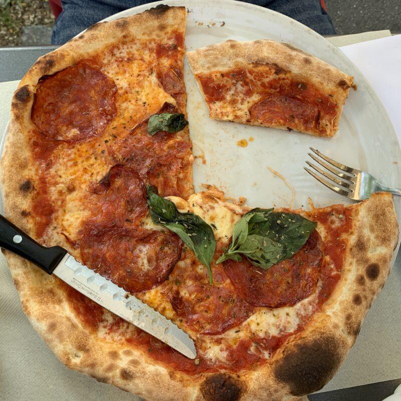 Pizza isst du am besten im Molino an der Gasometerstrasse
